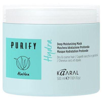 Маска Kaaral Purify Hydra Mask  500 мл sea of spa маска питательная восстанавливающая для сухих окраш волос с маслом арганы и ши 500 мл