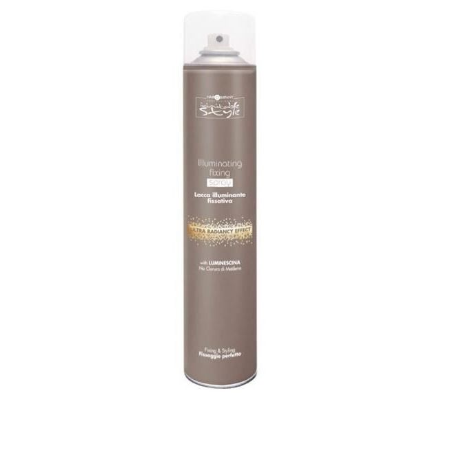 Лак Hair Company Illuminating Fixing Spray 500 мл hair company маска придающая блеск illuminating mask 1 л
