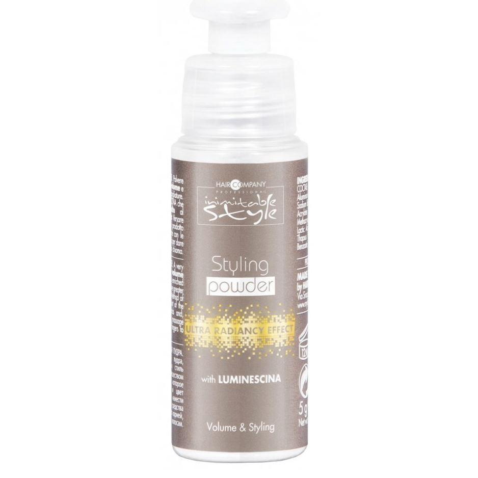 Пудра Hair Company Styling Powder  (5 г) la biosthetique пудра для придания объема тонким волосам style volume powder 14 г пудра для придания объема тонким волосам volume powder 14 г 14 г