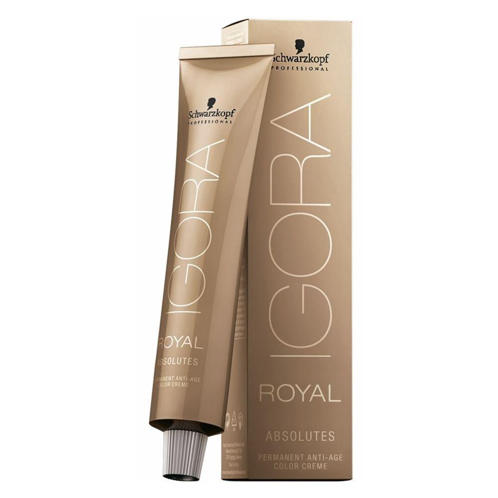 Краска для волос Schwarzkopf Professional Igora Royal Absolutes  (9-40) schwarzkopf краска для волос 5 60 светлый коричневый шоколадный натуральный schwarzkopf igora royal absolute 1887953 1688979 60 мл