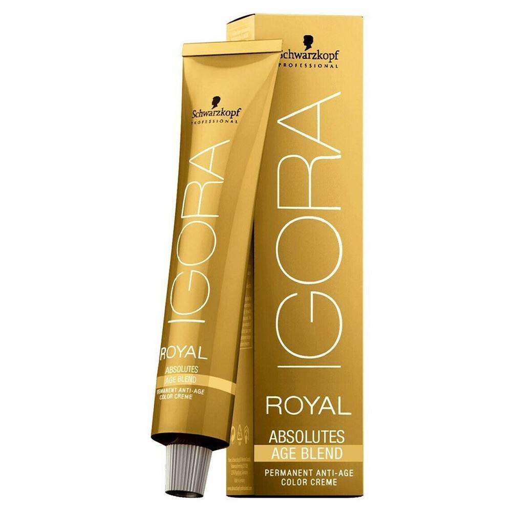 Краска для волос Schwarzkopf Professional Igora Royal Absolute Age Blend (8-07) краска для волос schwarzkopf professional igora royal highlifts 12 46