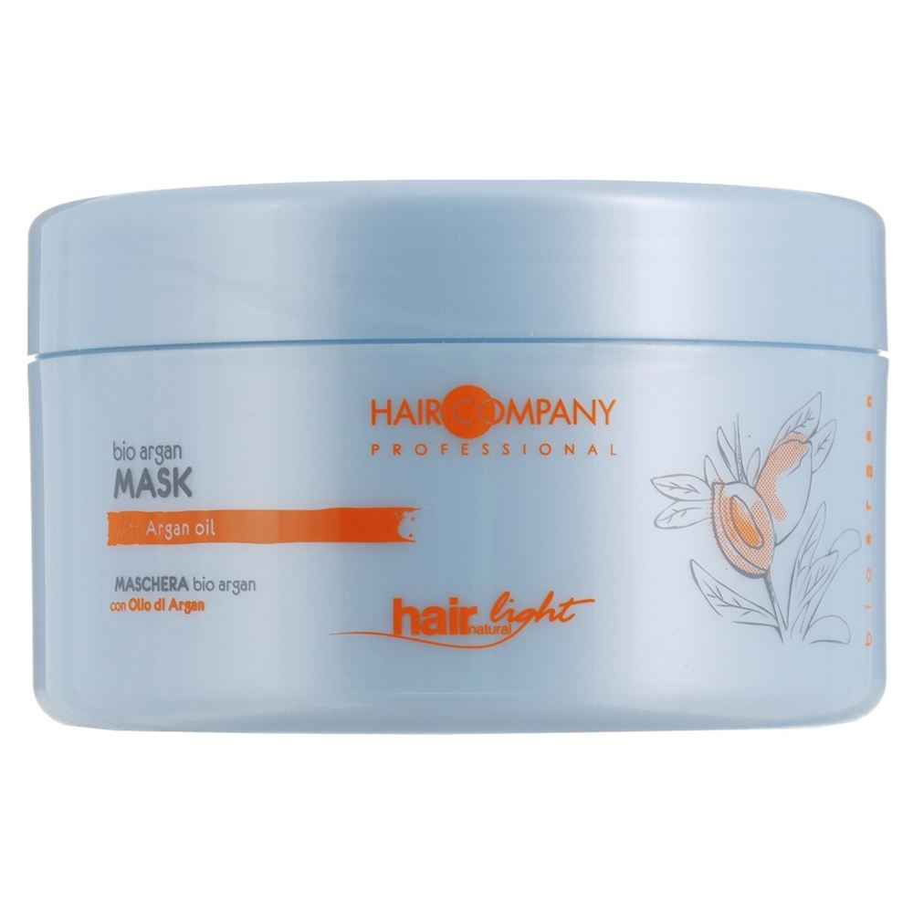 Маска Hair Company Bio Argan Mask 500 мл hair company маска придающая блеск illuminating mask 1 л