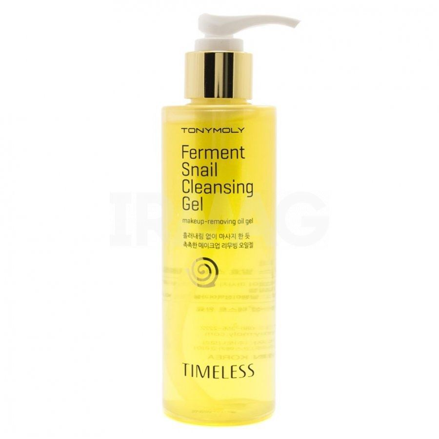 Гель Tony Moly Timeless Ferment Snail Cleansing Gel (200 г) маска tony moly timeless ferment snail eye mask 35 г