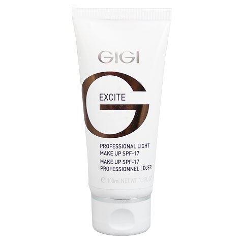 Эмульсия GiGi Professional Light Make-Up SPF 17 лёгкая тональная основа spf 17 make up collection 100 мл gigi
