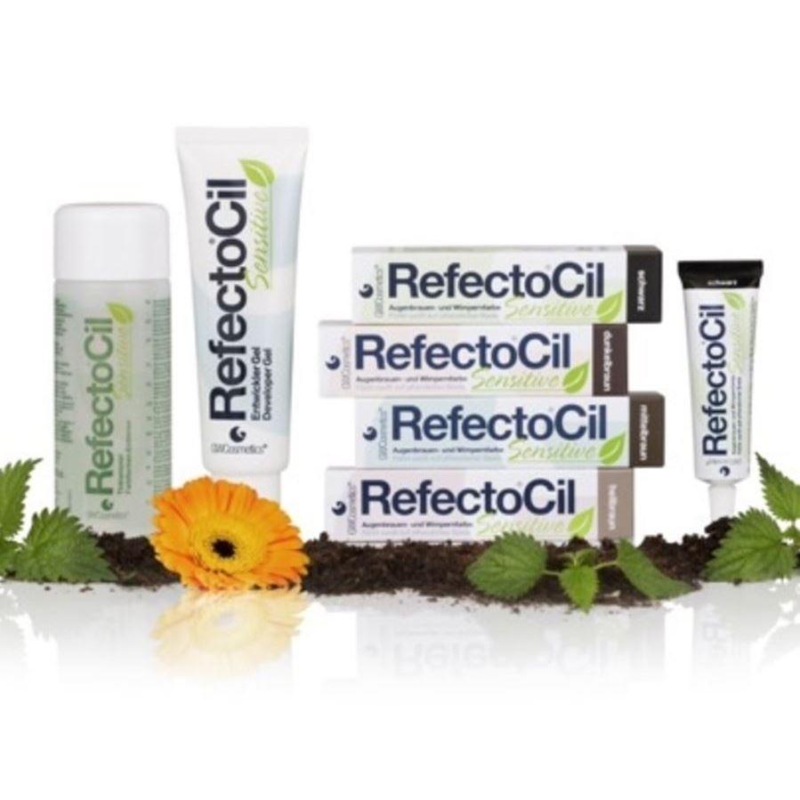 Краска для волос Refectocil RefectoCil Sensitive Сolor (Черный) refectocil кисть для окраски бровей и ресниц жесткая