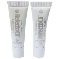 где купить Краска для волос Refectocil RefectoCil Eyelash Perm Refill Lash Perm + Neutralizer Set (2*3.5 мл) дешево