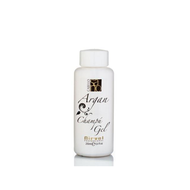 Гель Nirvel Professional Argan Shampoo Gel 250 мл morocco argan oil бальзам для волос увлажняющий с маслом арганы 350 мл