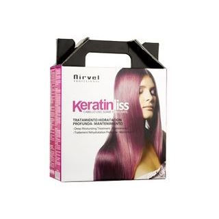 Набор: Бальзам Nirvel Professional Keratin Liss Pack Deep Moisturizing Treatment