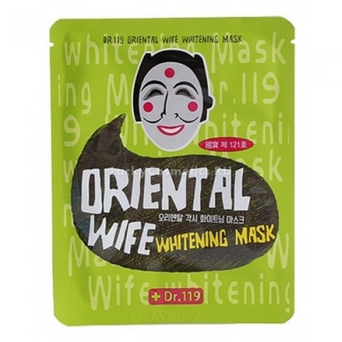 Маска Baviphat Dr.119 Wife Whitening Mask 25 мл тонизирующая тканевая маска baviphat dr 119 farewell my concubine yellow lucky mask