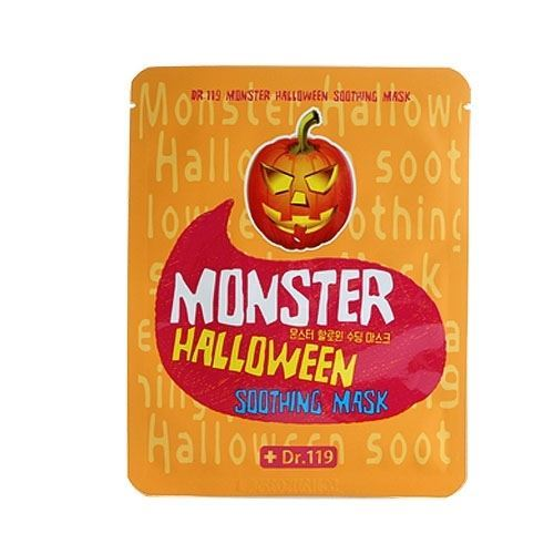 Маска Baviphat Dr.119 Monster Halloween Soothing Mask  25 мл тонизирующая тканевая маска baviphat dr 119 farewell my concubine yellow lucky mask