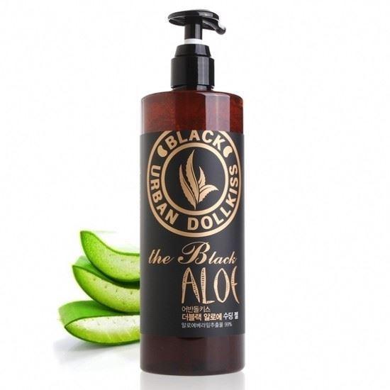 Крем Baviphat Urban Dollkiss The Black Aloe Soothing Gel 500 мл гели llang универсальный гель с экстрактом рапсового меда on the skin soothing gel canola honey