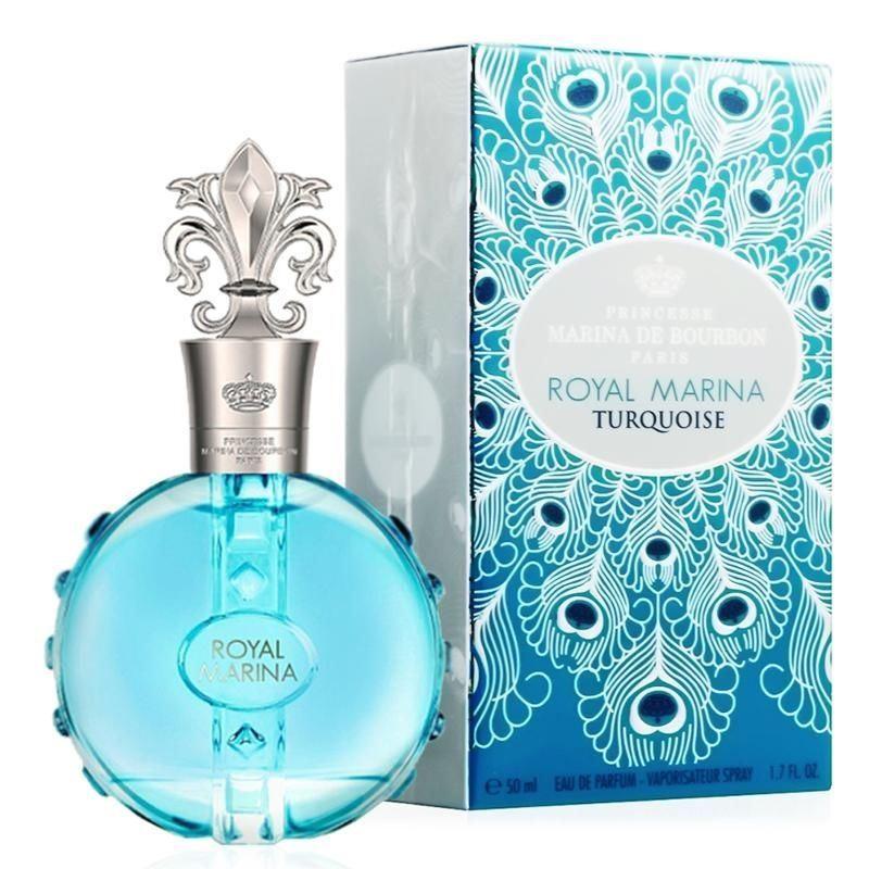Парфюмированная вода Marina de Bourbon Turquoise (Парфюмированная вода, 50 мл 2015) парфюмированная вода terry de gunzburg flagrant delice 50 мл
