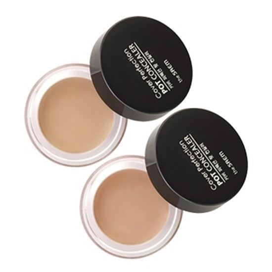 Корректоры The Saem Cover Perfection Pot Concealer (02) консилер the saem cover perfection tip concealer 02 цвет 02 rich beige variant hex name e3c69d
