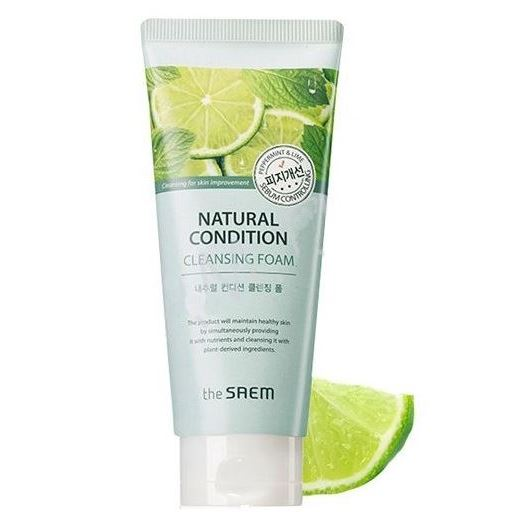 цены Пенка The Saem Natural Condition Cleansing Foam Sebum Controlling
