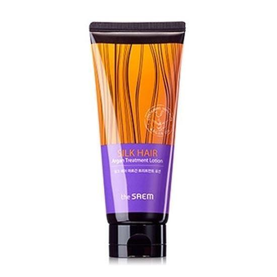 Лосьон The Saem Hair Silk Hair Argan Treatment Lotion  недорого