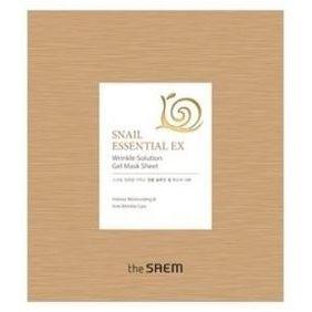 Маска The Saem Snail Essential EX Wrinkle Solution Gel Mask Sheet (28 г) маска тканевая с экстрактом бамбука natural bamboo mask sheet the saem
