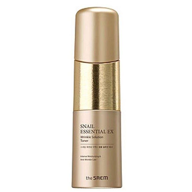 Тоник The Saem Snail Essential EX Wrinkle Solution Toner крем the saem snail essential ex wrinkle solution eye cream