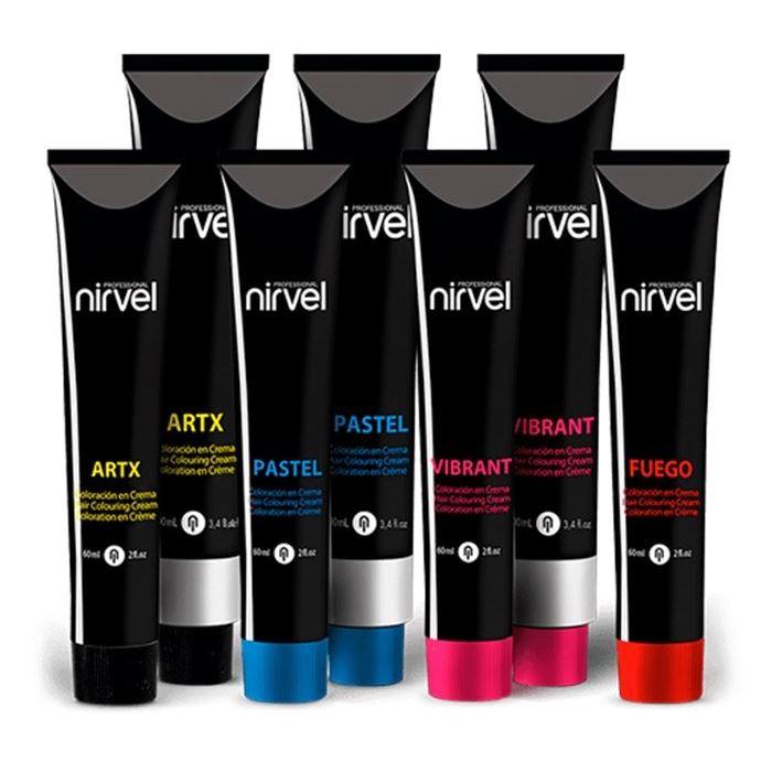 Краска для волос Nirvel Professional ArtX Hair Colouring Cream  (Р-07) краска для волос kapous professional hair color cream with keratin non ammonia na 912 ультра светлый бежевый блонд