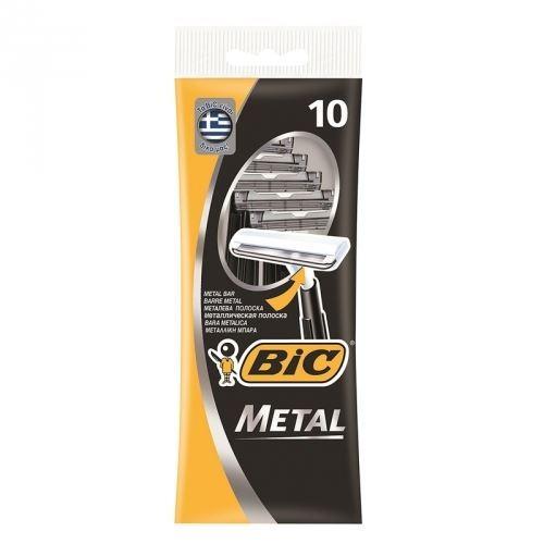 Бритва Gillette BIC Metal Станки одноразовые (5 шт) станки для заточки маникюрных щипчиков
