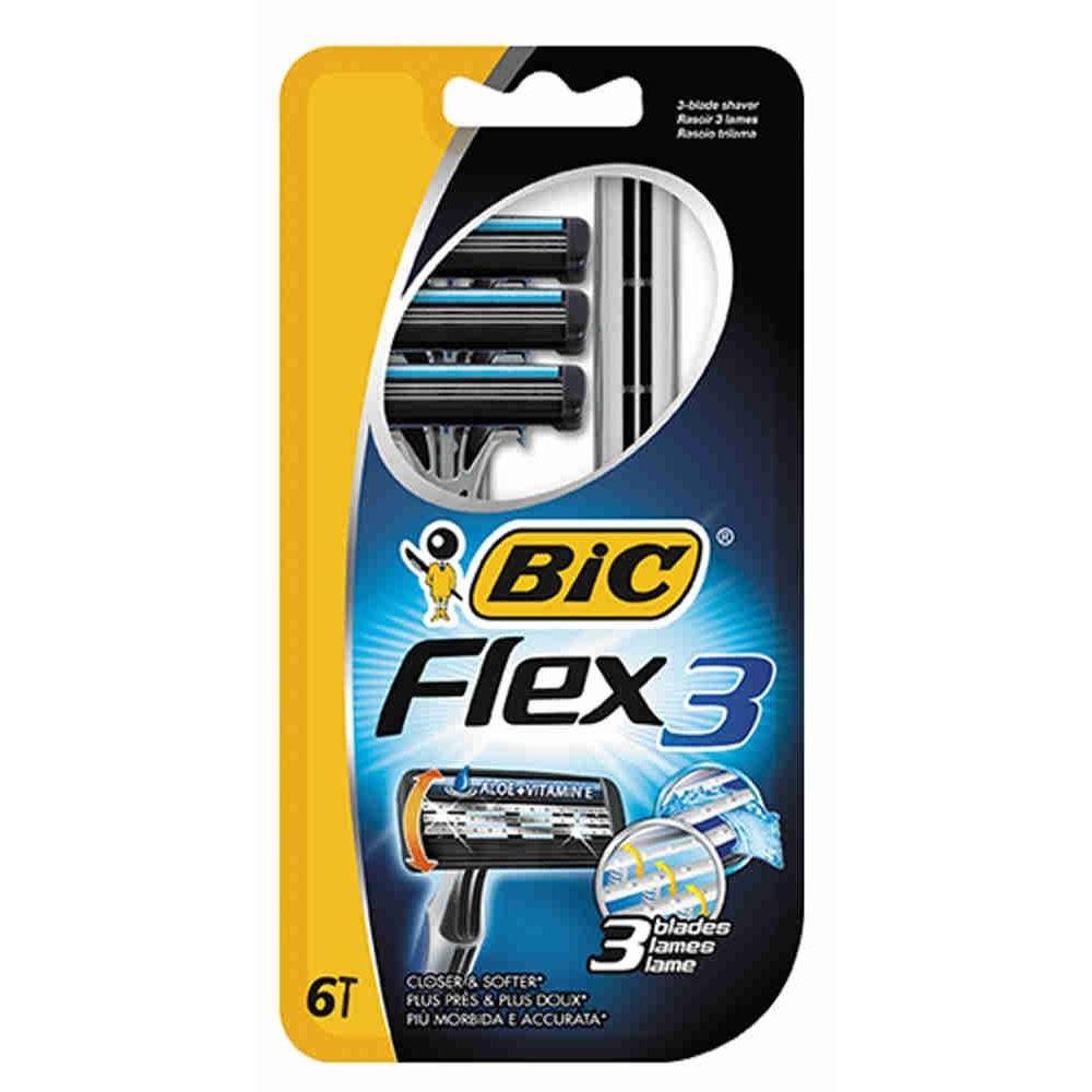 Бритва Gillette BIC Flex 3 Станки одноразовые  (3 шт)