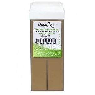 Воск Depilflax Wax Roll-On Cartridge Capuccino (110 г) воск depilflax wax roll on cartridge rosa 110 г
