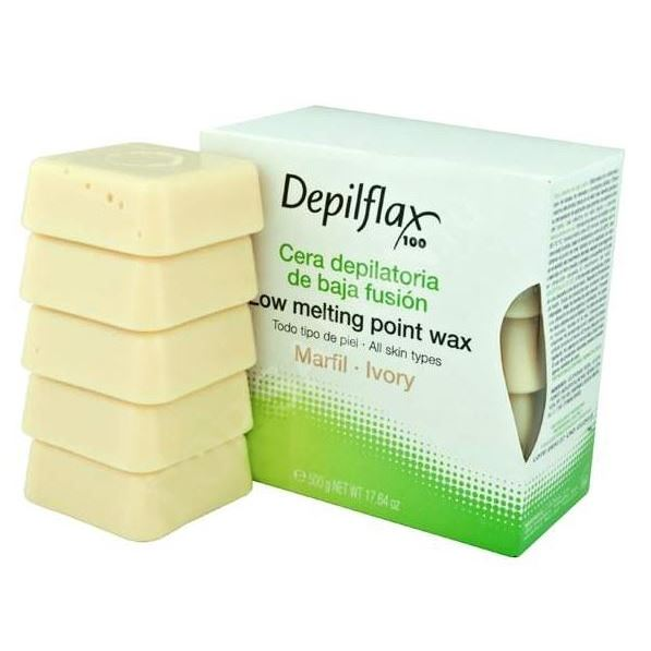 Воск Depilflax Hot Wax Ivory  (500 г) воск depilflax paraffin orange