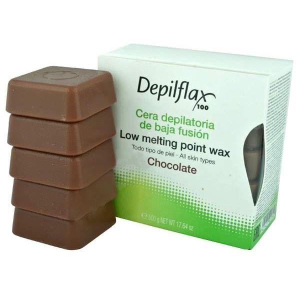 Воск Depilflax Hot Wax Chocolate (500 г) воск beauty image воск в кассетах белый 145 гр