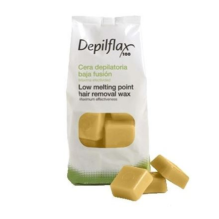 Воск Depilflax Hair Removal Wax Gold (1000 г) воск depilflax point wax pearls chocolat 600 г