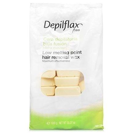 Воск Depilflax Hair Removal Wax Cotton (1000 г) воск depilflax hair removal wax ivory 1000 г