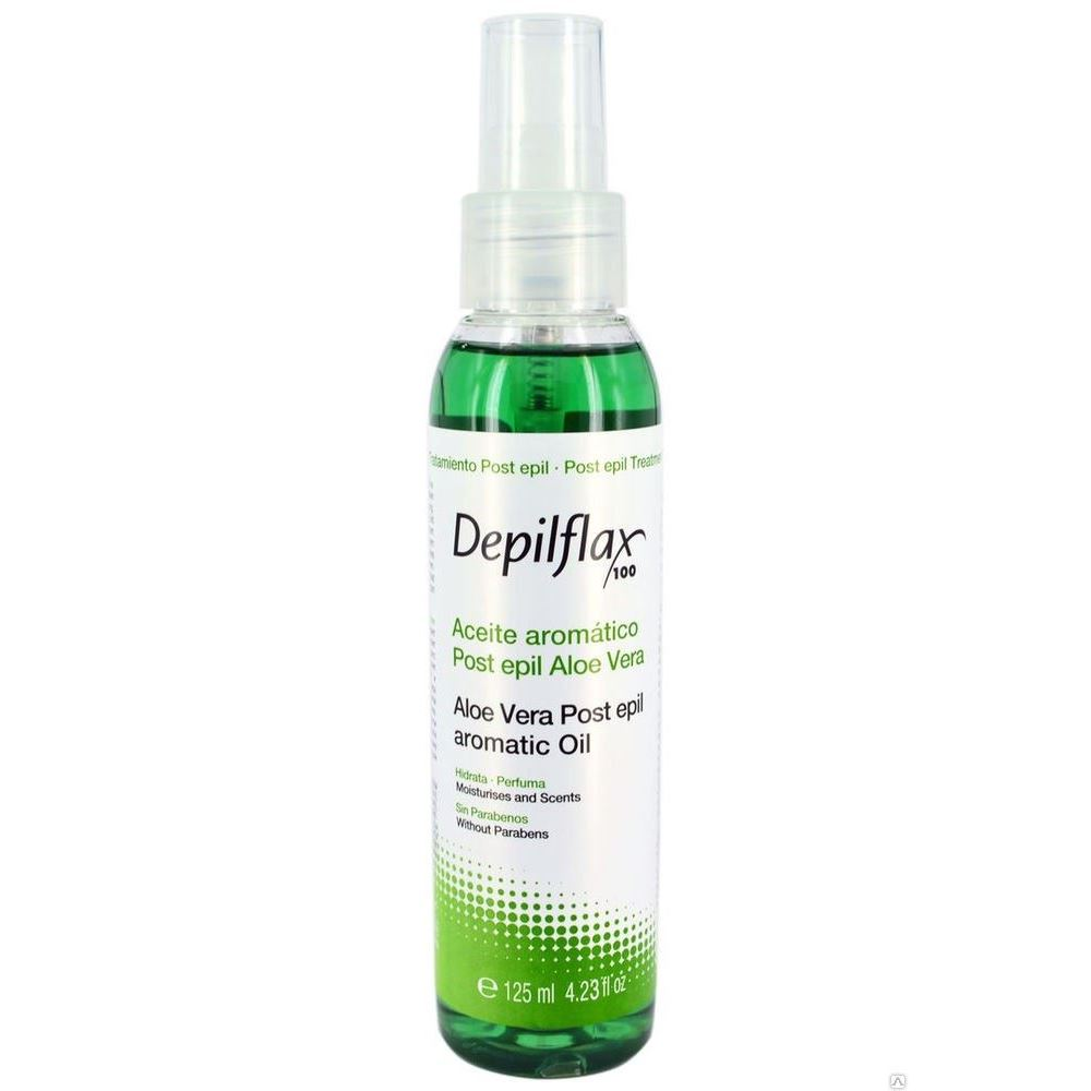 Масло Depilflax Aloe Vera Post Epil Aromatic Oil 125 мл depilflax post epil emulsion