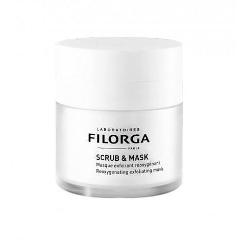 Маска Filorga Scrub & Mask 55 мл miriamquevedo отшелушивающая маска для кожи головы extreme caviar exfoliating scrub scalp mask 250ml