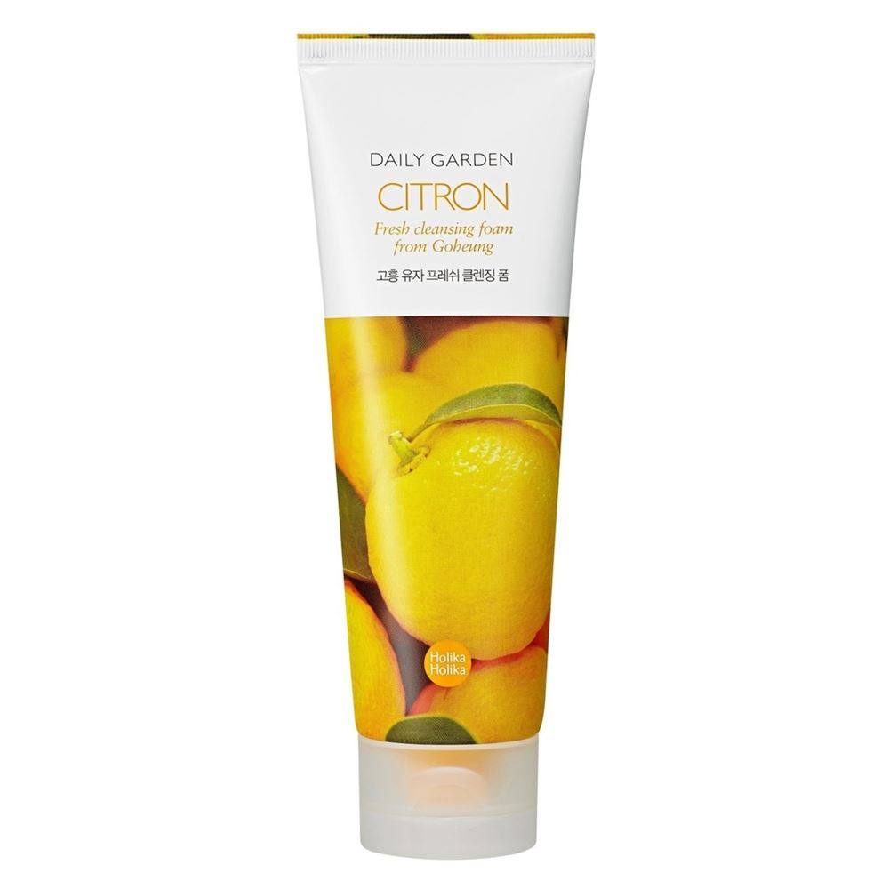 Пенка Holika Holika Daily Garden Cleansing Foam Citron