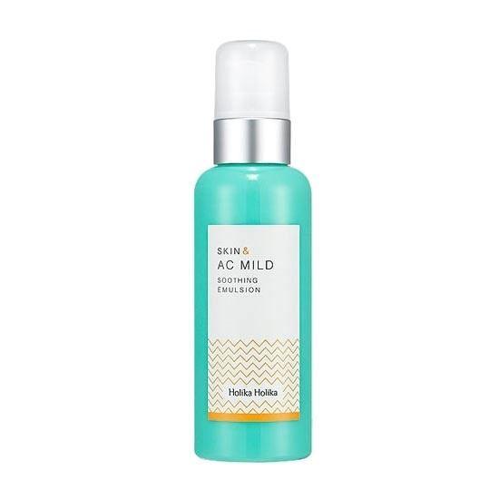 Эмульсия Holika Holika Skin&AC Mild Soothing Emulsion 130 мл маска holika holika aloe 99% soothing gel jelly mask sheet