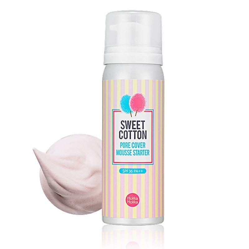 База под макияж Holika Holika Sweet Cotton Pore Cover Mousse Starter 50 мл карандаши holika holika cover