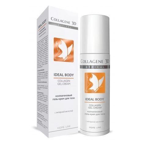 Гель Medical Collagene 3D Collagen Gel-Cream с янтарной кислотой 130 мл гель medical collagene 3d collagen gel mask eapress protect с софорой японской