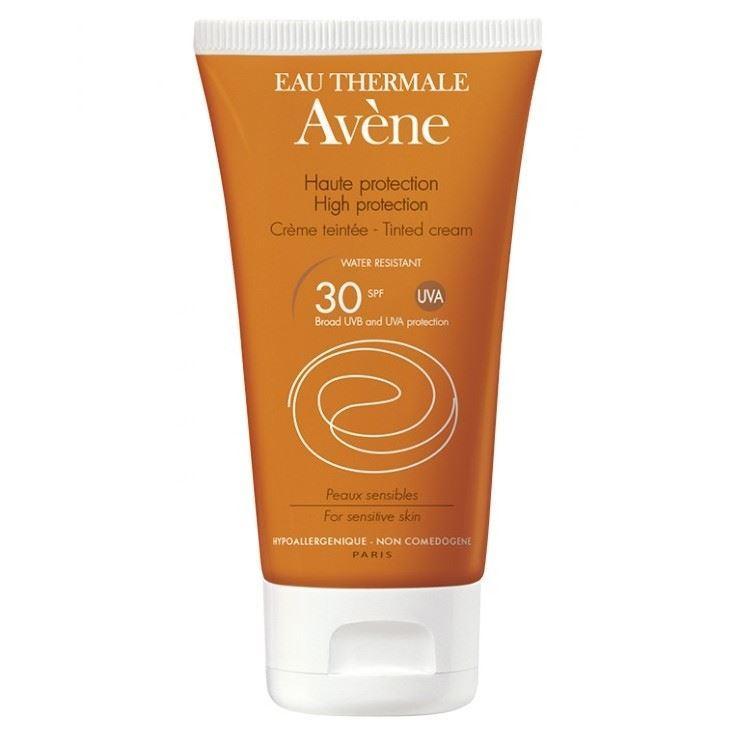 Крем Avene Крем с тонирующим эффектом SPF 30 50 мл натура bisse c c без масла macroantioxidant солнце protcetion spf 30