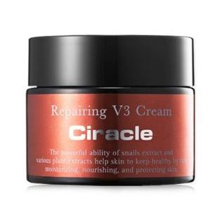 Крем Ciracle Repairing V3 Cream trind восстанавливающий крем для потрескавшейся кожи пяток и стоп trind salon lines repairing heel cream 50202001 200 г