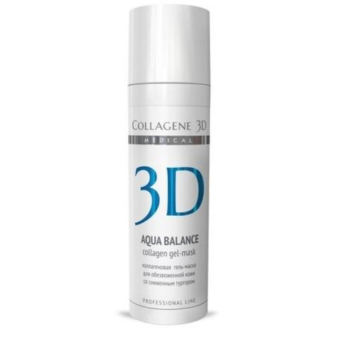 Гель Medical Collagene 3D Aqua Balance Collagen Gel-Mask 30 мл medical collagene 3d гель проф aqua balance 130 мл