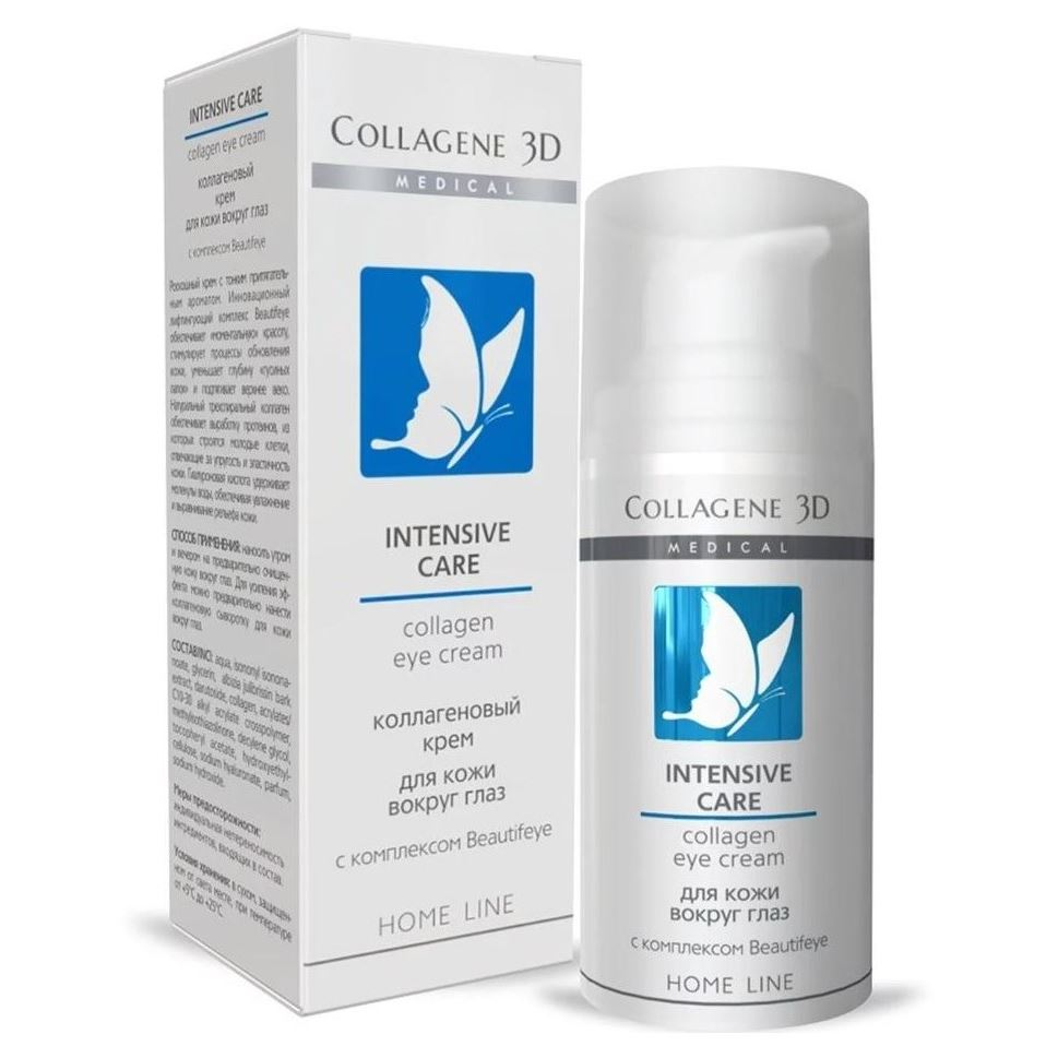 Крем Medical Collagene 3D Intensive Care Collagen Eye Cream premier антивозрастной крем гель для кожи вокруг глаз premier biox intensive age treatment eye cream gel l3 15 мл