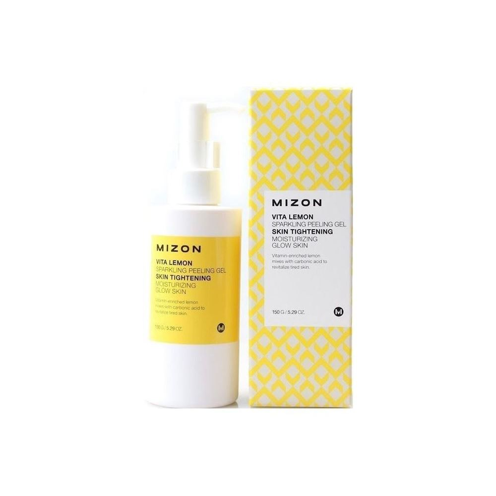 Гель Mizon Vita Lemon Sparkling Peeling Gel (150 г) the yeon lotus roots 365 silky skin bubble peeling gel пилинг гель с экстрактом лотоса 100 мл