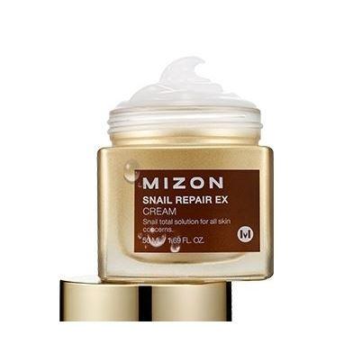 Крем Mizon Snail Repair EX Cream 50 мл mizon enjoy fresh on time revital lime hand cream крем для рук с экстрактом лайма 50 мл