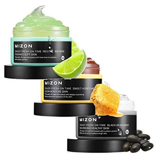 Маска Mizon Enjoy Fresh On-Time Mask  маска mizon enjoy vital up time mask whitening mask