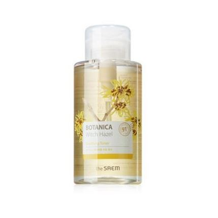 Тоник The Saem Botanica Witch Hazel Soothing Toner  400 мл