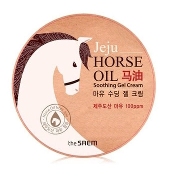 Крем The Saem Horse Oil Soothing Gel Cream гель the saem snail soothing gel объем 300 мл
