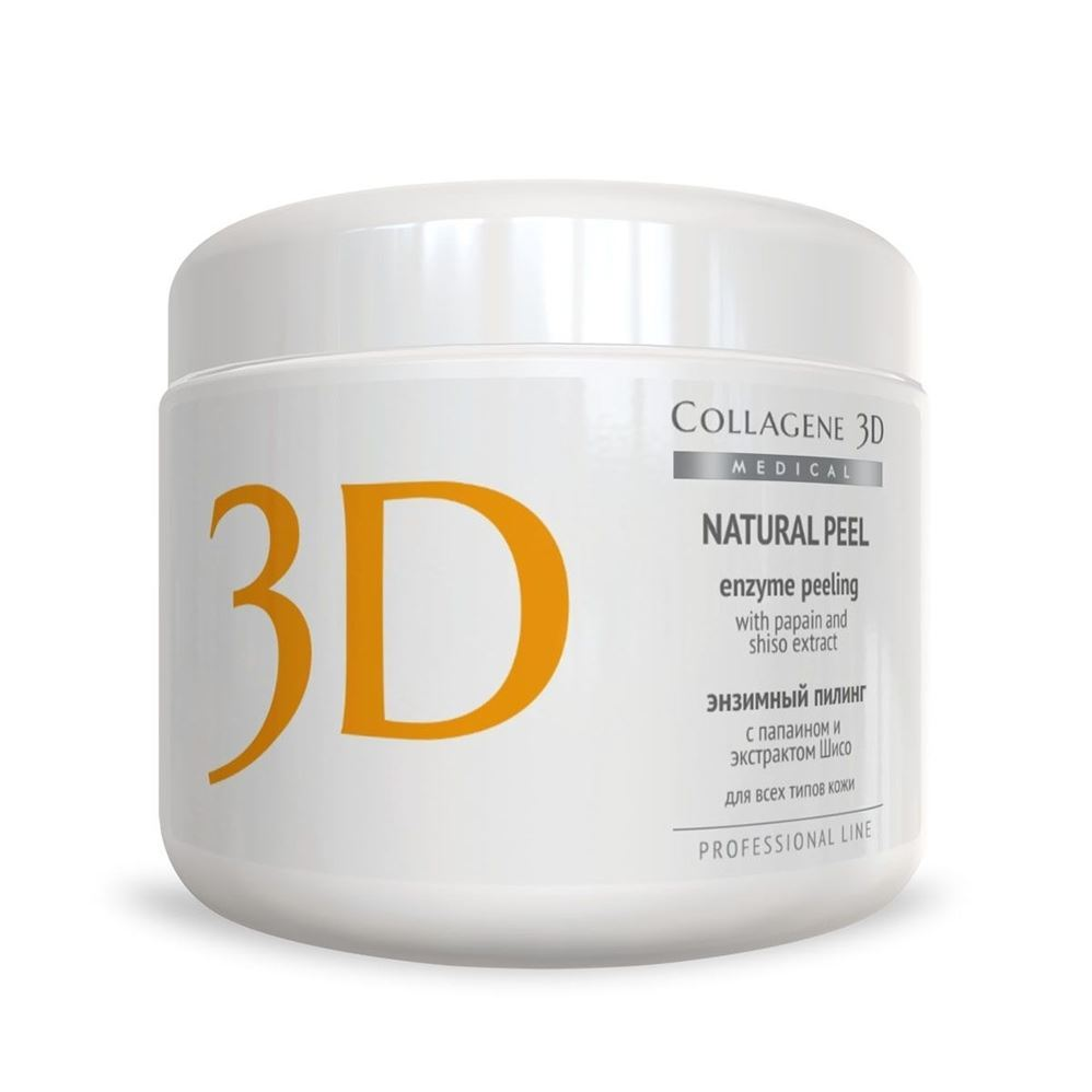 Гель Medical Collagene 3D Natural Peel Enzyme Peeling With Papain and Shiso Extract (150 г) medical collagene 3d энзимный пилинг c коллагеназой medical collagene 3d natural peel enzyme peeling 26005 150 мл