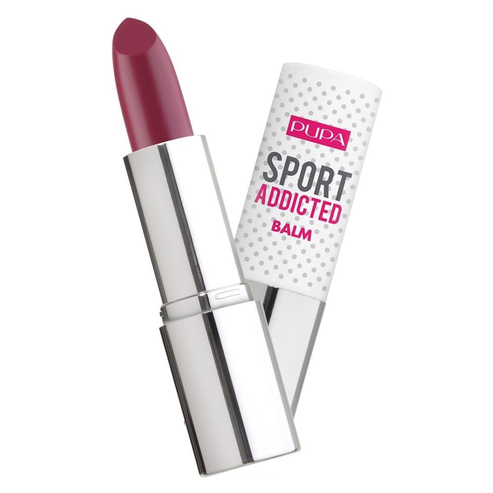 Помада Pupa Sport Addicted Balm SPF 15 (003 Burgundy) бальзам depileve cerazyme dna body balm spf 15 400 мл