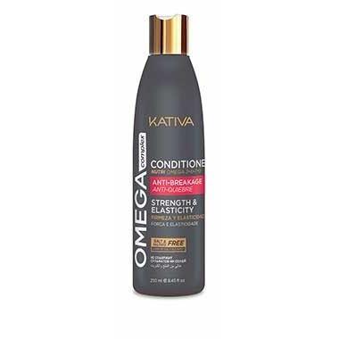 Кондиционер Kativa Omega Complex Антистрессовый Кондиционер для поврежденных волос 250 мл кондиционер бальзам kativa ревитализирующий кондиционер quinua pro kativa 500 мл