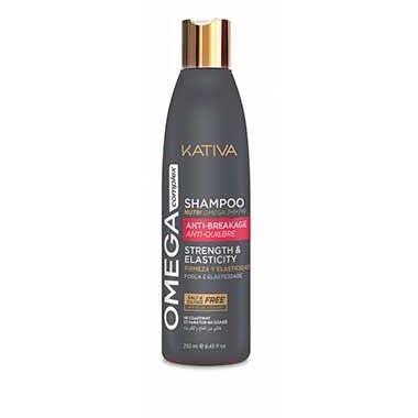 Шампунь Kativa Omega Complex Антистрессовый Шампунь для поврежденных волос kativa коллагеновый шампунь kativa 65502468