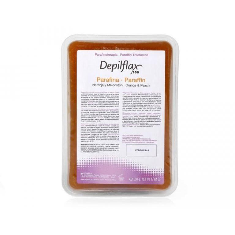 Воск Depilflax Paraffin Orange & Peach (500 г) воск depilflax paraffin with mint