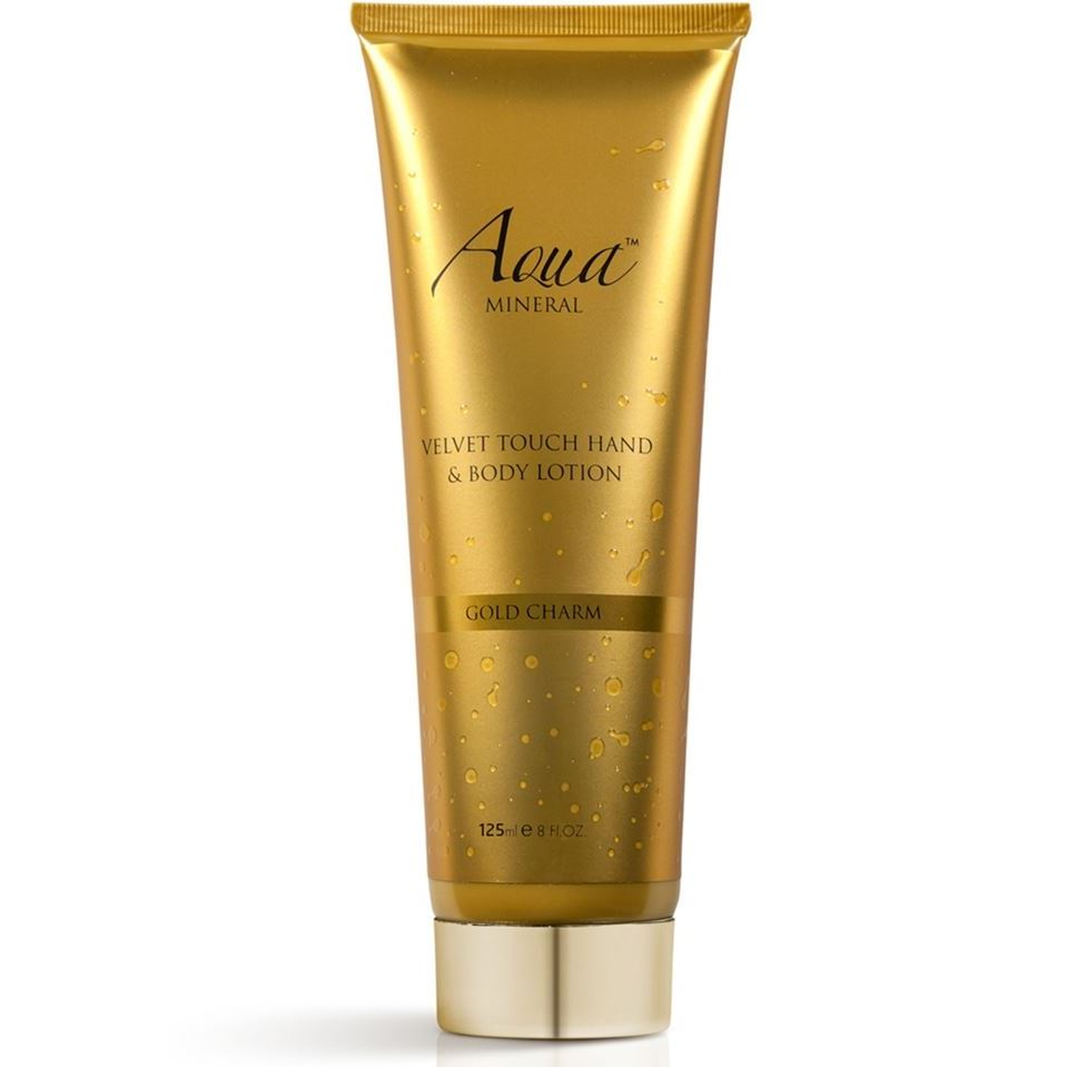 Лосьон Aqua Mineral Velvet Touch Hand & Body Lotion Gold Charm лосьон для тела naturalium body lotion – green apple объем 370 мл
